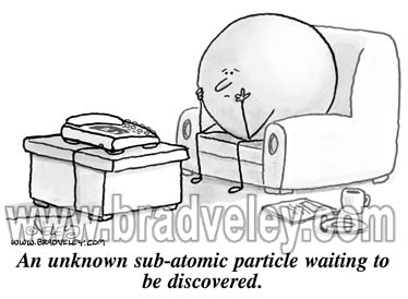 Unknown sub-atomic particle