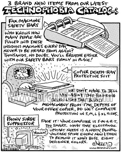 Technophobia Catalog