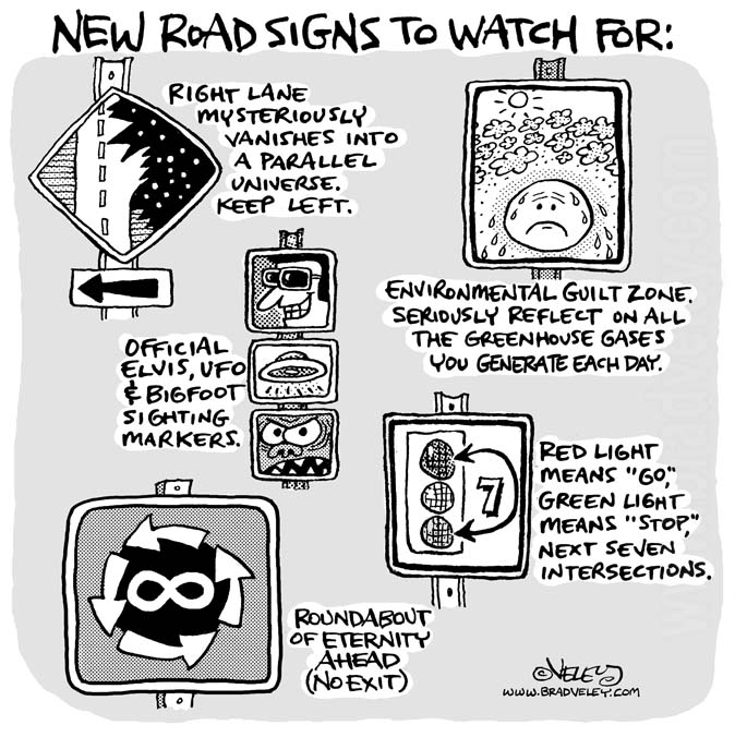 New road signs to watch for