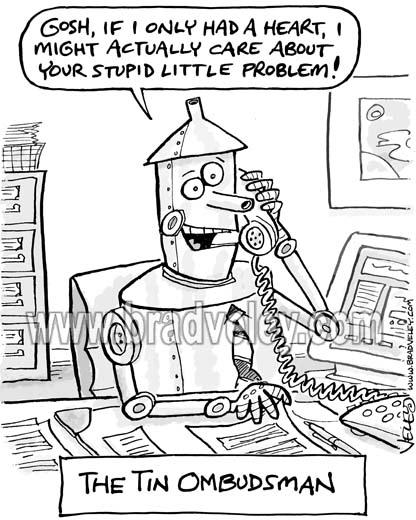 The Tin Ombudsman
