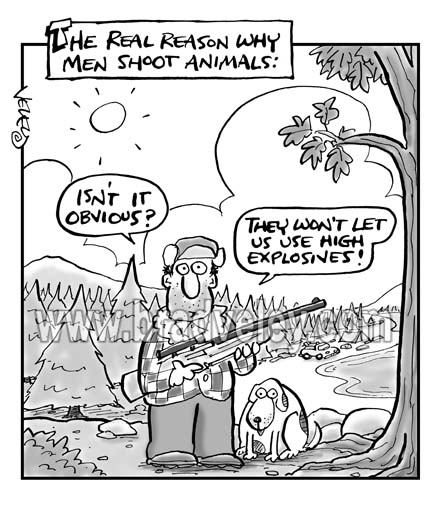 Why Men Shoot Animals