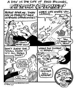 Fred Billings, Attack Optimist