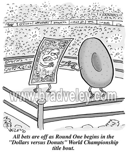 Dollars vs. Donuts Championship Bout