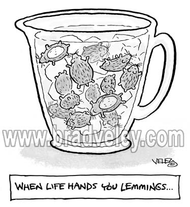 When Life Hands You Lemmings