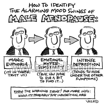 Mood Swings of Male Menopause