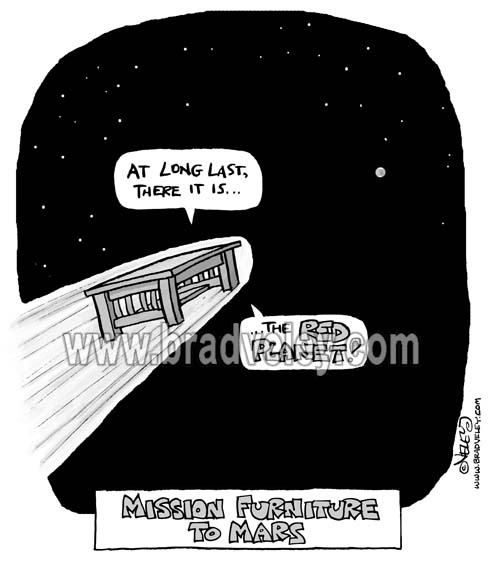 Mission Furniture to Mars