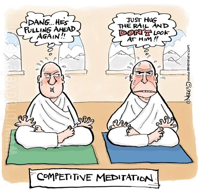 Competitive Meditation