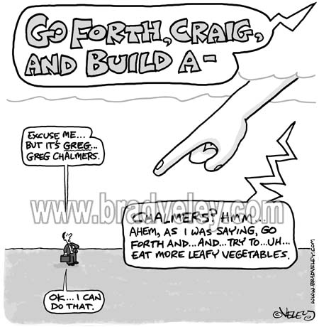 """""""Go Forth and Build a…"""""""