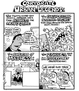 Corporate urban legends