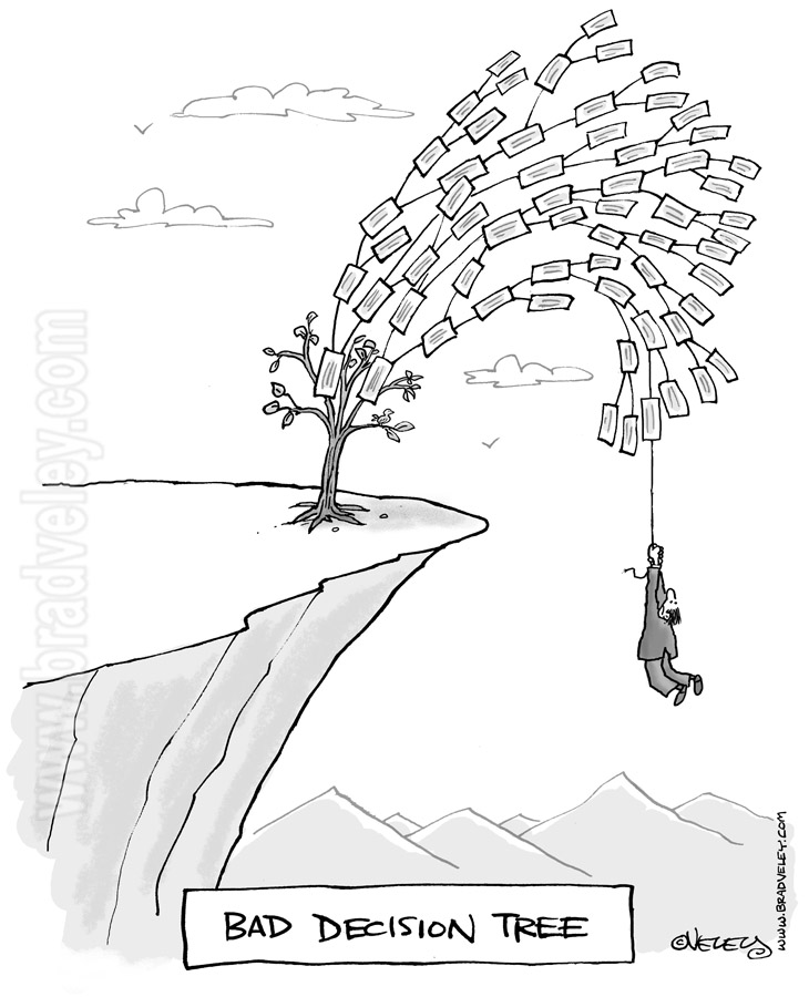 Bad decision tree