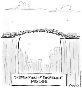 suspension of disbelief bridge