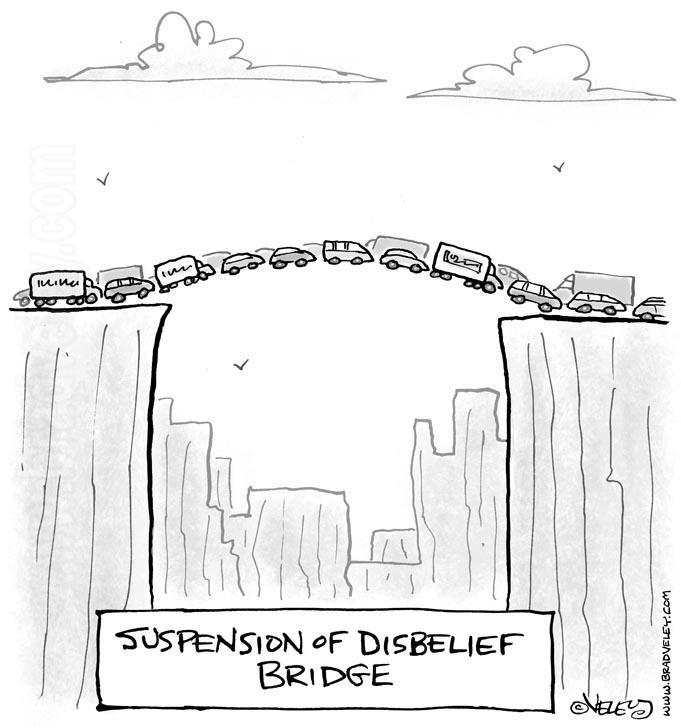 suspension of disbelief bridge