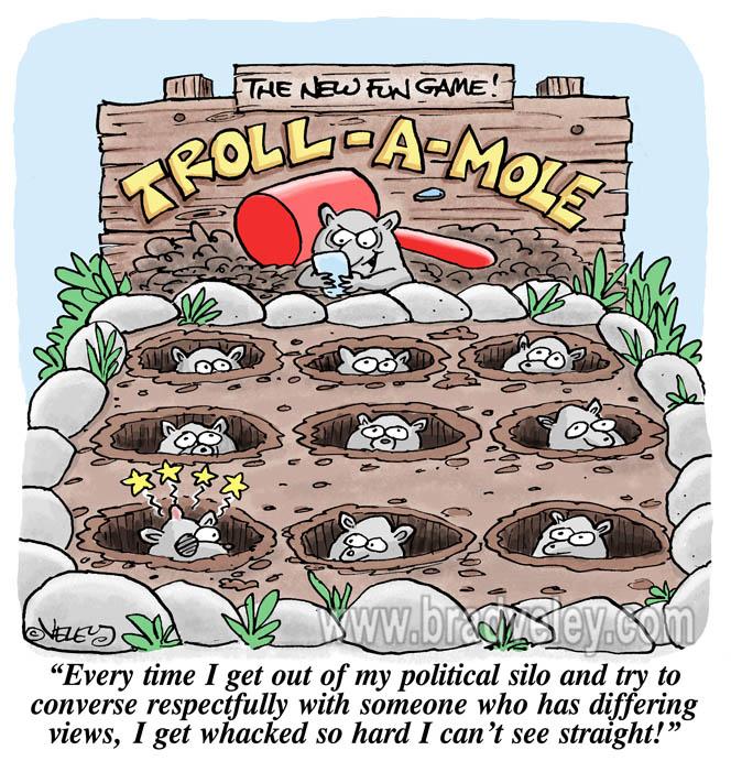 Troll-A-Mole