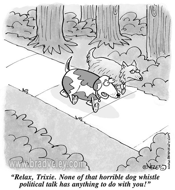 Dog whistle political talk