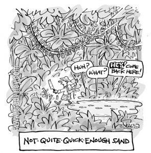 Not Quite Quick Enough Sand