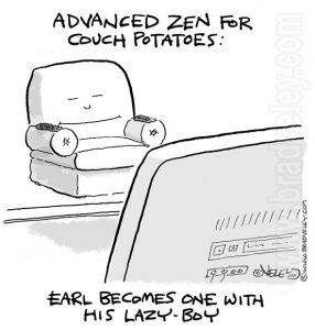 advanced zen for couch potatoes