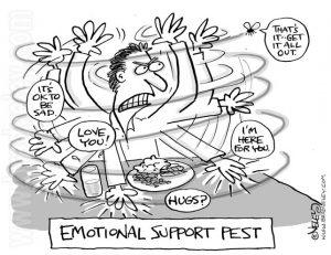 Emotional support pest