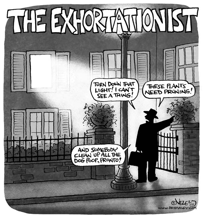 The Exhortationist